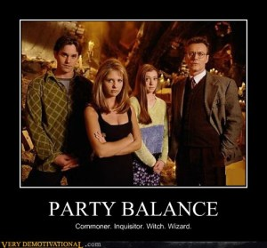 Buffy party balance